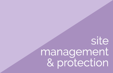 site management and protection plans